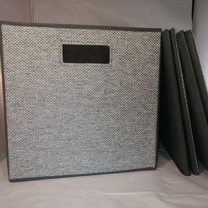 Cloth Storage Cubes Set of 3